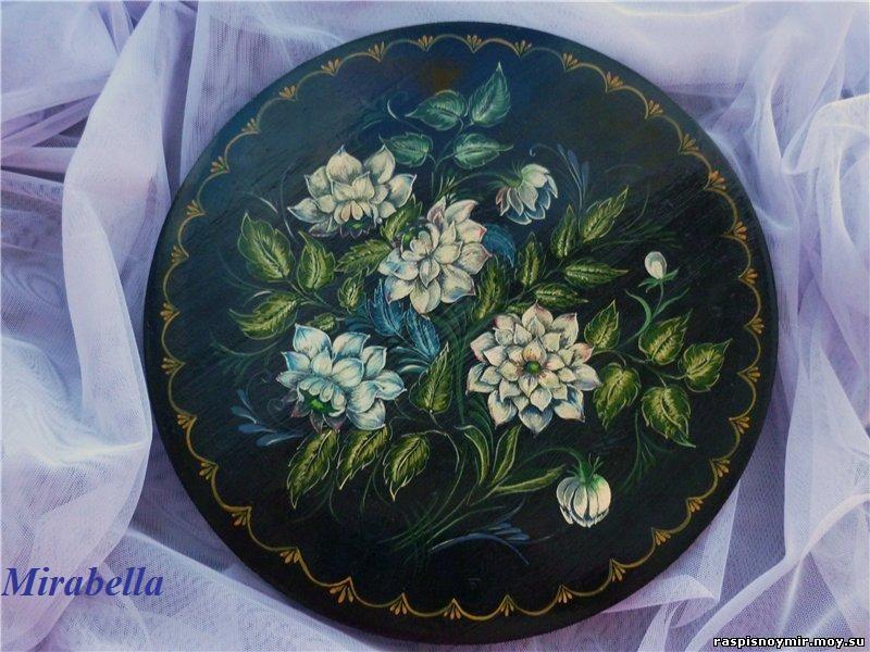 Тарелка Цветы
